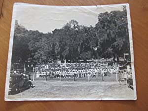 Original Photograph- African American School Event, Brunswick, Georgia, 1943