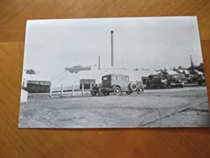 Original Photograph- Temporary Classrooms At Pasadena City College Circa 1928