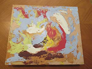 Original Abstract Painting By California Artist And Motion Picture Art Director Jack Okey