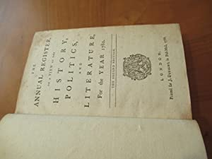 The Annual Register, Or A View Of The History, Politics, And Literature For The Year 1780 (Second...