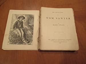 The Adventures Of Tom Sawyer(1876 First Issue With All Points, Disbound)