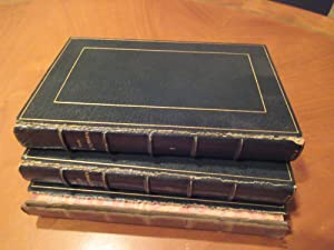 The Antiquary (First Issues, 3 Volumes In Crushed Morocco By Ramage)