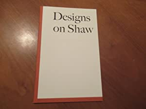 Designs On Shaw [George Bernard Shaw]: Michael Russem