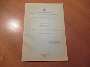 El Plan Contable Unitario Aleman (Offprint From Revista De La Facultad De Ciencias Economicas Y D...