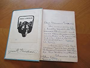 On The Makaloa Mat (Inscribed By The Editor, Charmian London, Also With A Signature By Jack Londo...