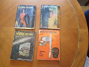 Astounding Science Fiction, 5 Issues October, November, December 1948, January 1949 , Each Person...
