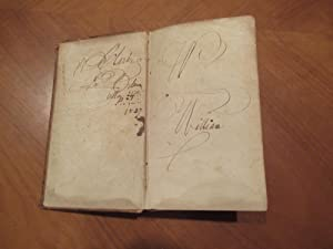 Les Aventures De Telemaque, Fils d'Ulysse (Signed and inscribed By William Clark, Explorer with M...