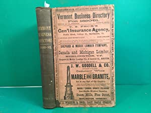 The Vermont Business Directory For 1880-81