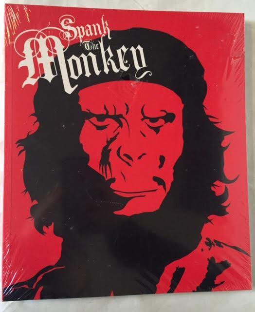 Monkey will spank