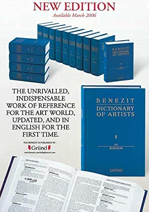Benezit Dictionary of Artists - 14 Volumes [ English Edition ]