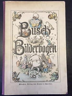 Busch Bilderbogen Coloriert: Busch, Wilhelm