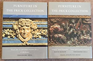 Furniture (The Frick Collection: An Illustrated Catalogue, Vols. 5 & 6)