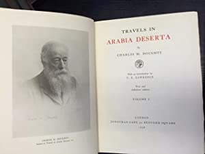 Travels in Arabia Deserta - 2 Volumes