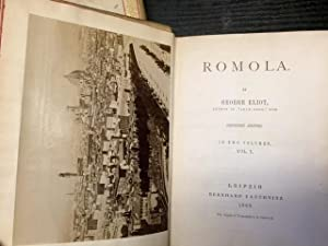 Romola. In Two Volumes.