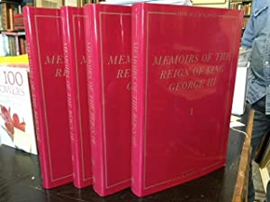 Memoirs of the Reign of King George III - 4 Volumes ( The Yale Edition of Horace Walpole's Memoirs )