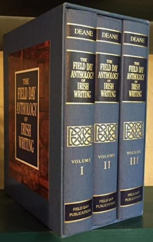 The Field Day Anthology of Irish Writing.: Deane, Seamus, editor