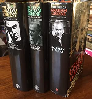 The Life of Graham Greene : Vol. 1: 1904-1939, Vol. 2: 1939-1955, Vol. 3: 1955-1991. In 3 volumes...