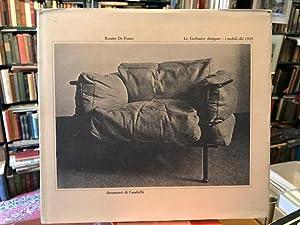 Le Corbusier Designer i Mobili del 1929: De Fusco, Renato