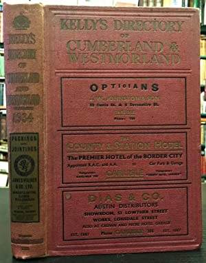 Kelly's Directory of Cumberland and Westmorland 1934
