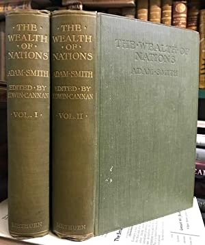 An Inquiry Into the Nature and Causes of the Wealth of Nations. In two volumes