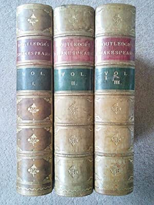 The Works of William Shakespeare in 3 Volumes