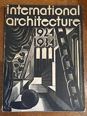 International Architecture 1924-1934 - Catalogue to the: Anderson, M.L. (editor)