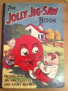The Jolly Jig-Saw Book: Jigpuzbuk