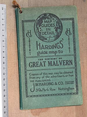 Harding's guide map to the district of Great Malvern: JW Harding & Co