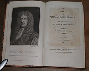The life of William Lord Russell with: Russell, Lord John