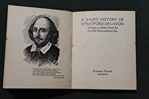 A short history of Stratford on Avon written in ballad form by an old Warwickshire boy: Hands, A.C....