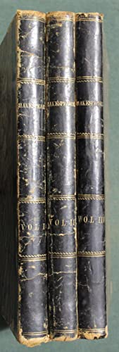Plays, edited by Gulian C. Verplanck [3 vols containing 13 plays bound from the original parts, ...