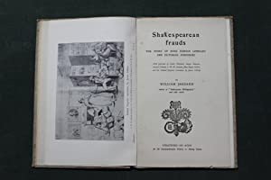 Shakespearean frauds. The story of some famous: Jaggard, William