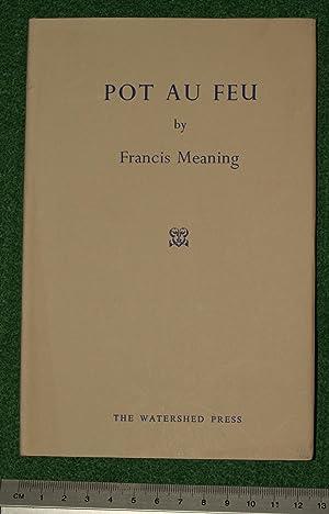 Pot au feu: Meaning, Francis