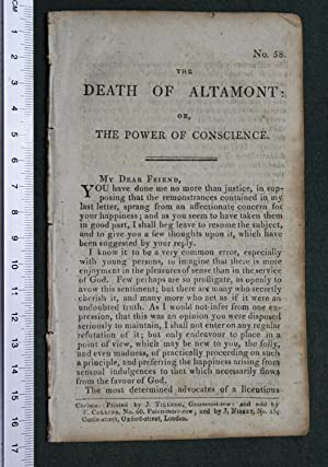 The death of Altamont: or, the power of consience. No 58