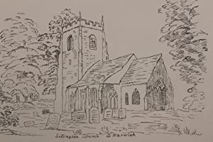 Lillington Church Co Warwick [lithographic reproduction of