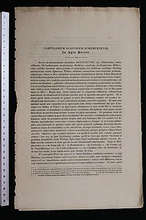 Cartularium Saxonicum Scireburnense in Agro Dorset