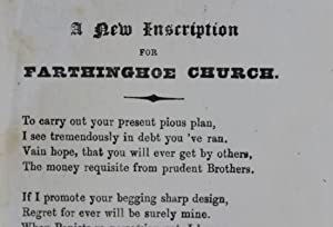 A new inscription for Farthinghoe Church: Phillipps, Sir Thomas