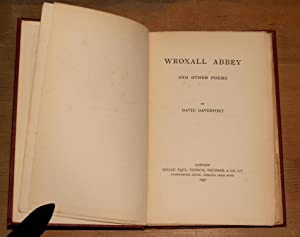 Wroxall Abbey and other poems: Davenport, David
