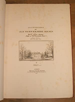 Illustrations of old Warwickshire houses.: Niven, William
