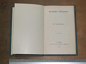 Modern tyranny: Aristides