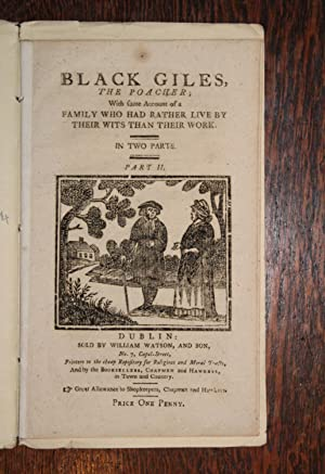 Black Giles, the poacher; with some account of a family who had rather live by their wits than th...