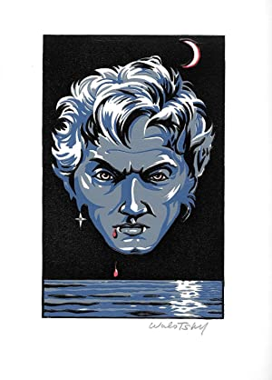 Vampire image for the Queen of the Damned limited issued by Ultramarine Press: Walotsky, Ron [for ...