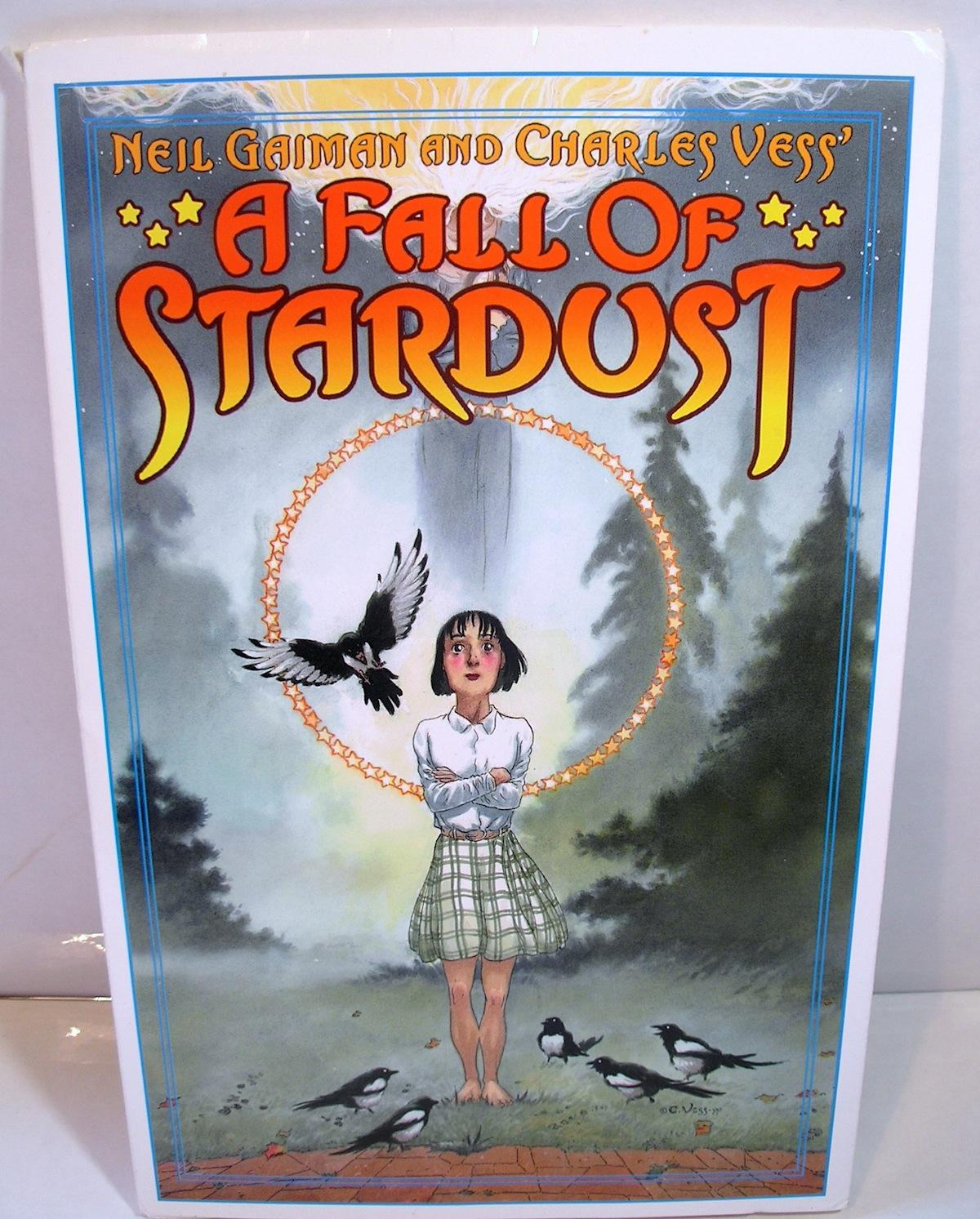 A FALL OF STARDUST (Portfolio): Neil Gaiman and Charles Vess (with illustrations by William Stout, ...