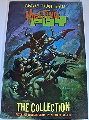 Melting Pot: The Collection: Kevin Eastman, Bryan Talbot & Simon Bisley (signed by all three)