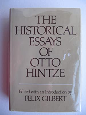 The Historical Essays of Otto Hintze