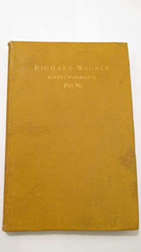 Richard Wagner and his Poetical Work from