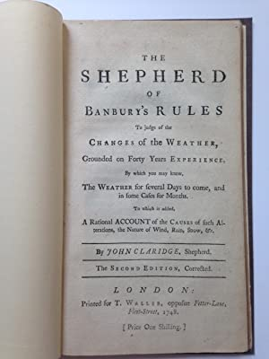 The Shepherd of Banbury's Rules, To Judge of the Changes of the Weather