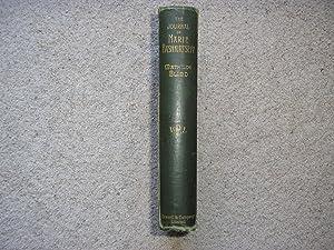 The Journal of Marie Bashkirtseff. Translated, with: Marie Bashkirtseff. (Mathilde