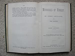 Memorials of Hindley. In Two Parts: John Leyland of