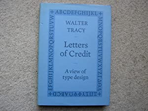 Letters of Credit, A View of Type: Walter Tracy
